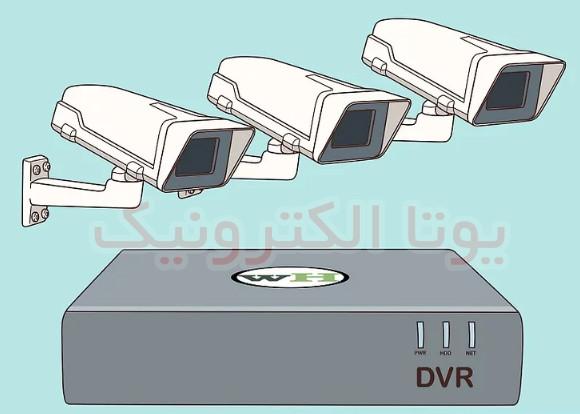 نصب دوربین مداربسته تحت شبکه